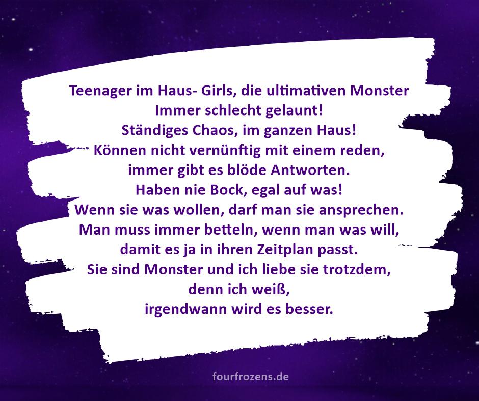 Teenager im Haus- Girls, die ultimativen Monster